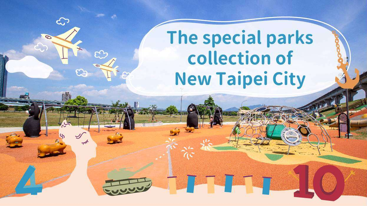 The special parks collection of New Taipei City