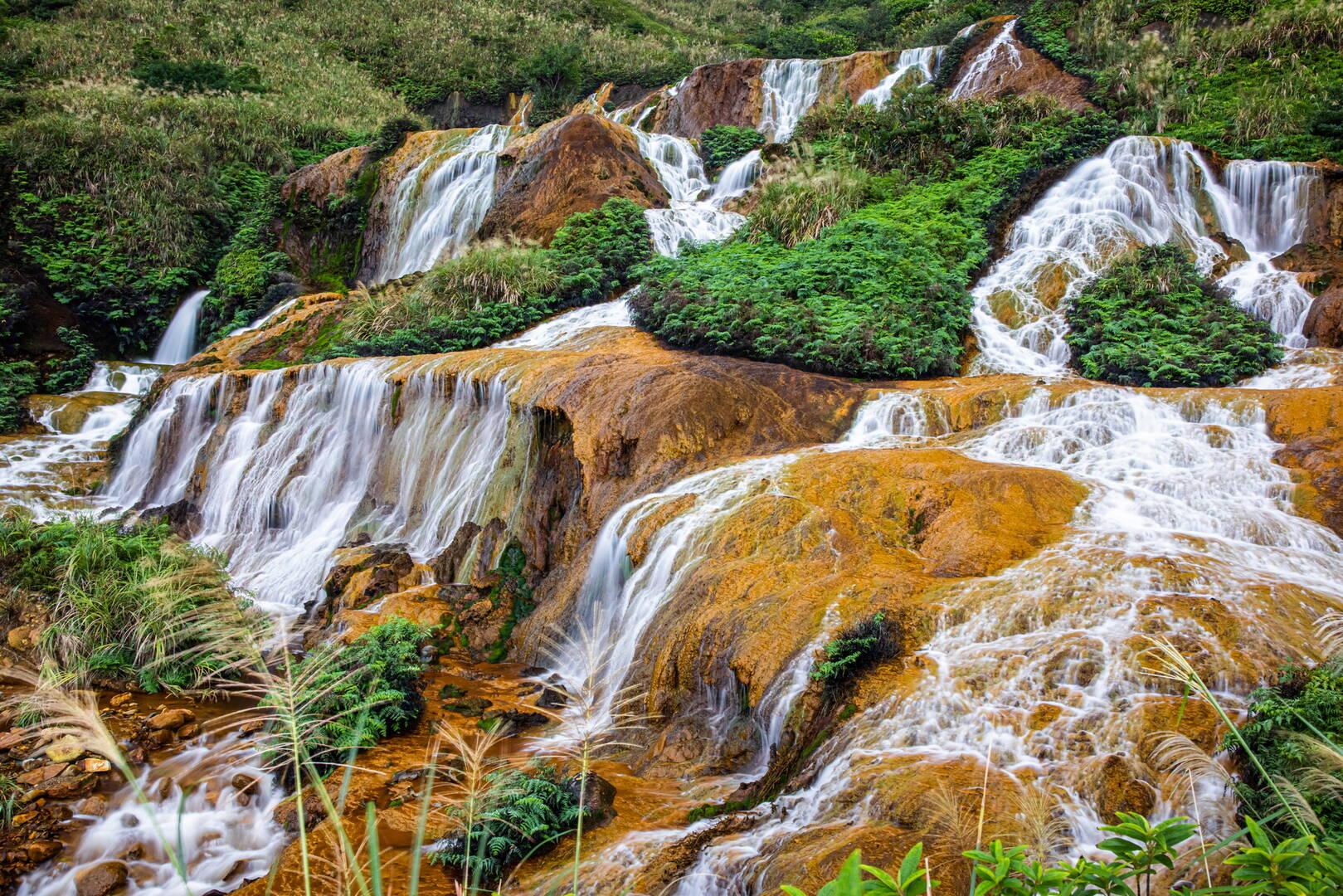 ShueiNanDong Golden Waterfall