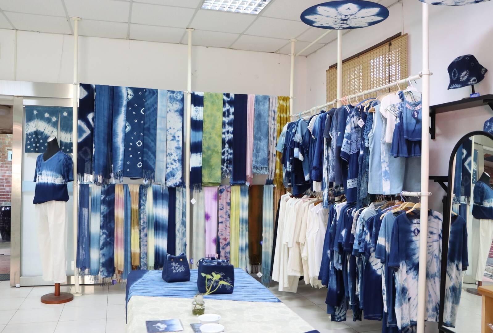 Sanxia Blue Tie-dye